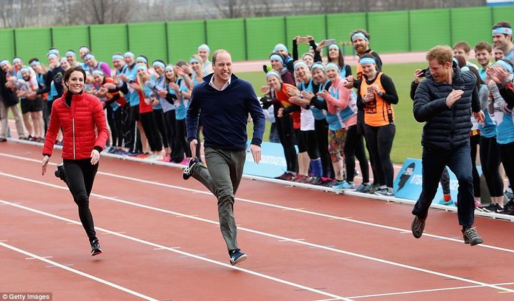 Prince Harry came in first place beating his brother and his sister-in-law at the event on...