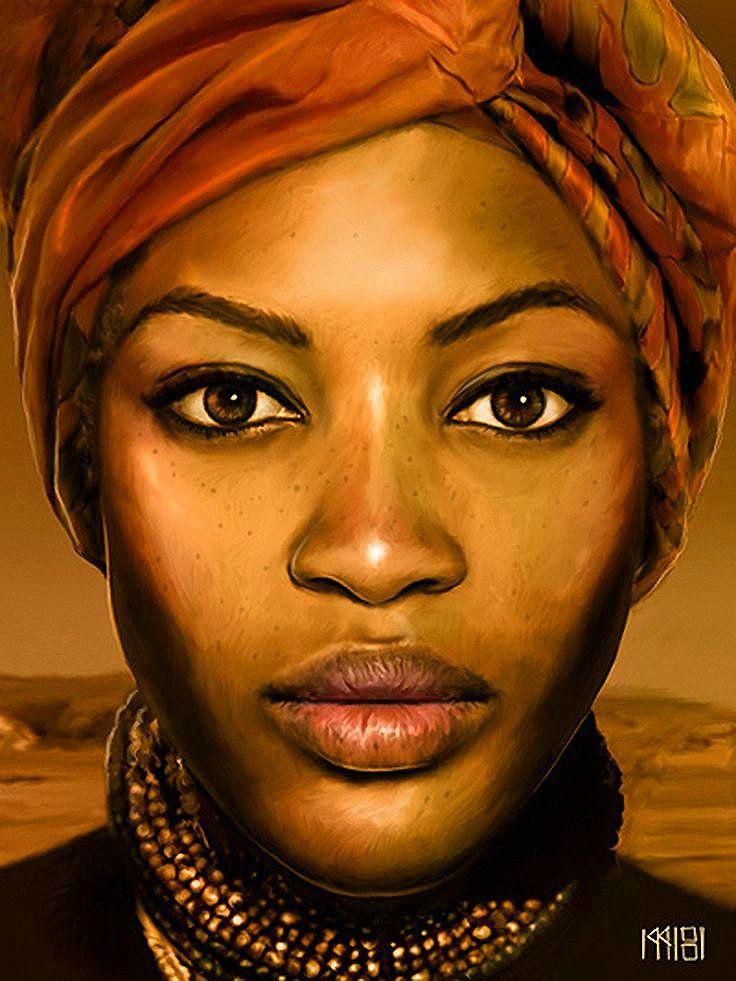 Art - African  Shades Of Black  Pinterest -6850