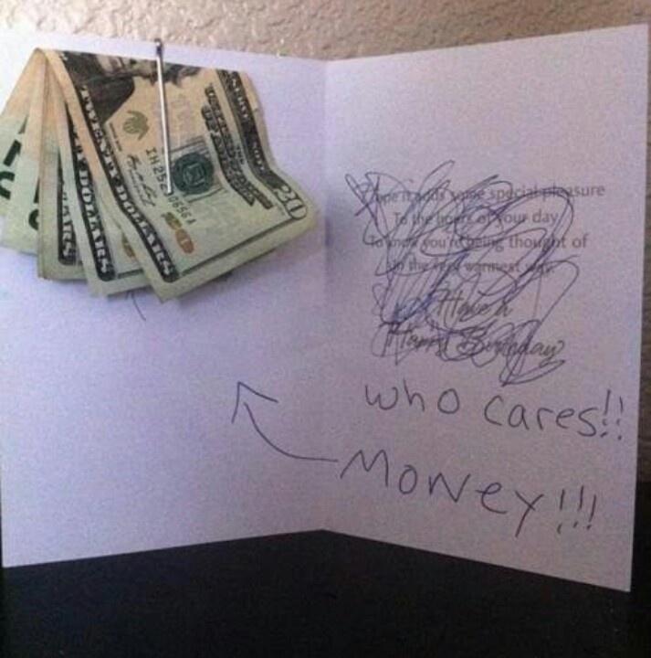 Great birthday card idea!