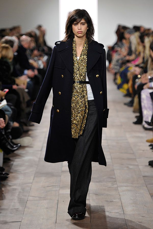 Modeshow Michael Kors vrouw herfst winter 2015 2016