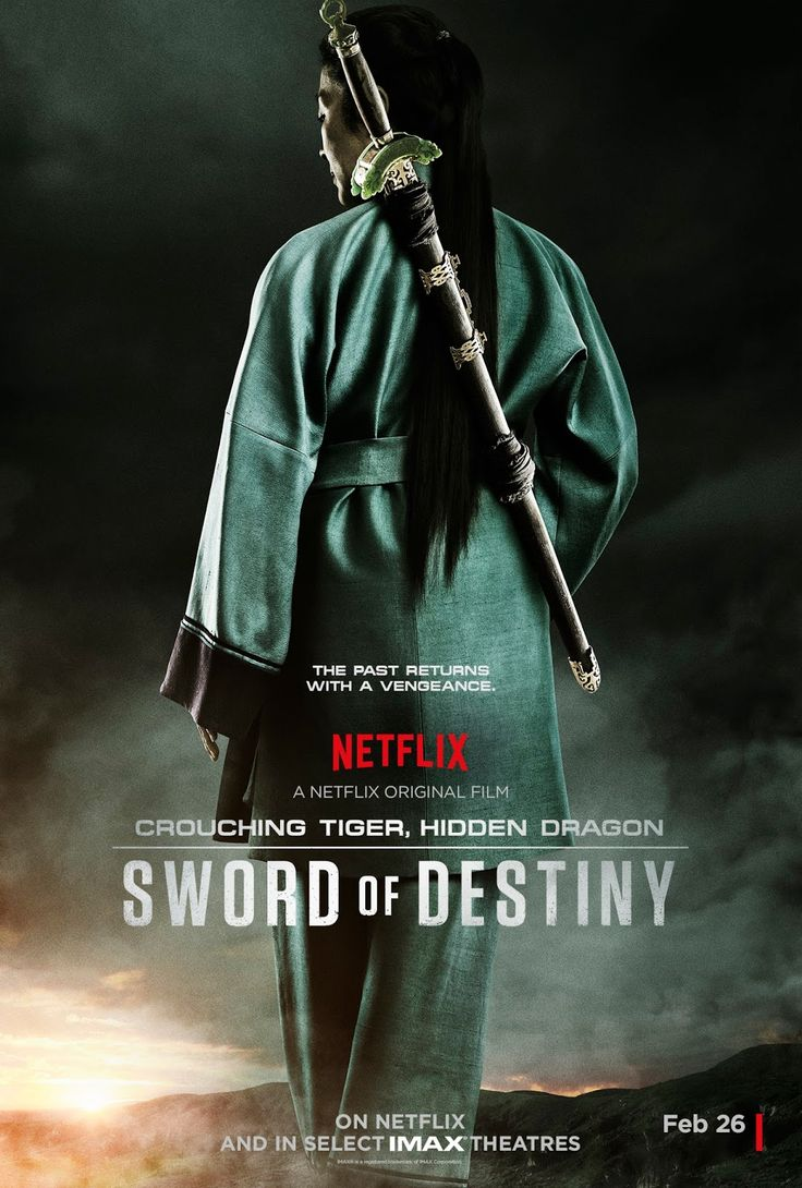 Crouching Tiger, Hidden Dragon: Sword of Destiny (2016) PG-13 | 1h 36min | 26 February 2016 (USA) - A story of lost love, young love, a legendary sword and one last opportunity at redemption