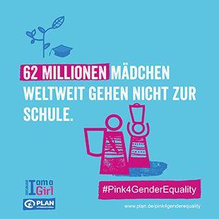 Wir von Plan International setzen uns weltweit für Gleichberechtigung und die Stärkung der Rechte von Mädchen ein. Zum Welt-Mädchentag haben wir das Engagement ...