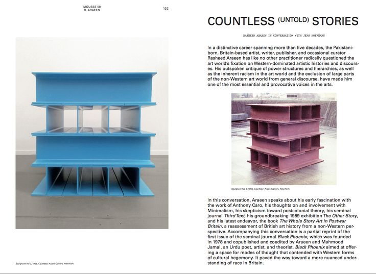 Rasheed Araeen Jens Hoffmann Countless (Untold) Stories  Mousse 58 Learning from Athens. An issue about documenta 14
