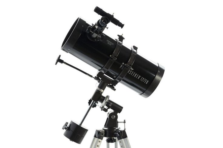 Product Description CES1071 Features: -Telescope. -PowerSeeker collection. -Color: Black. -Material: Aluminum. -127 mm (5'') Newtonian reflector. -3x Barlow lens triples the magnifying power of each e