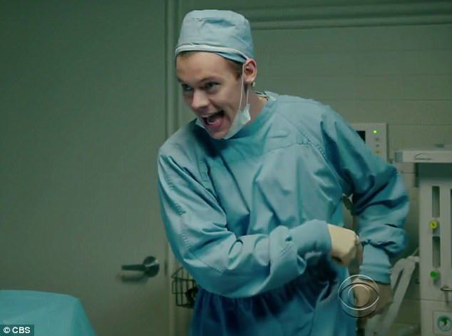 Get ready! The first scene shows the pair play surgeons with a pep in their step