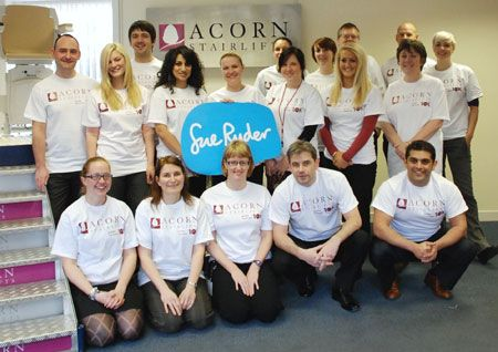 Acorn Stairlifts workers sign up for Charity 10K Challenge