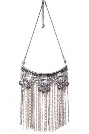 Statement Jewel Chain Necklace