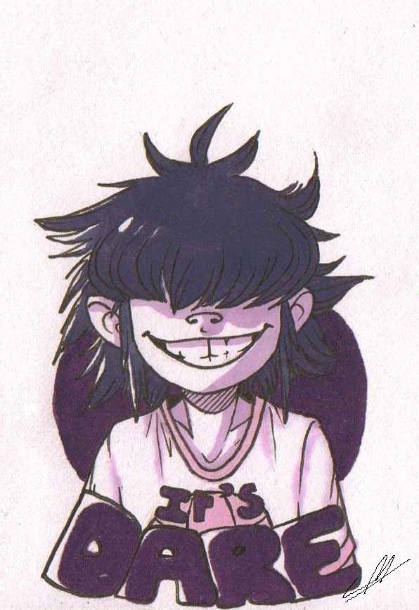 "dragoncatgirl:  ""I M so pumped for the return of Gorillaz omg  """