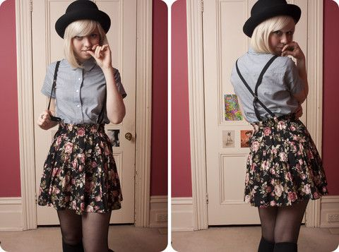 Love love LOVE everything about this outfit! I want that hat!!