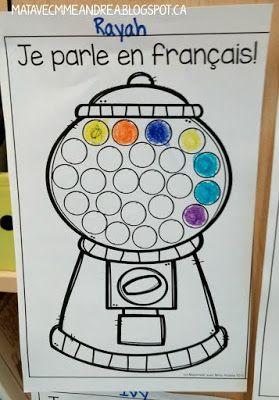 GRATUIT - Encouragez vos élèves à parler en français avec les boules de gomme!