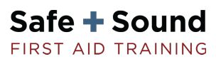 Safe + Sound First Aid Training is a provider of First Aid, CPR, AED, Mental Health First Aid classes and a wide variety of online safety training courses. We are an approved training partner for the Canadian Red Cross.