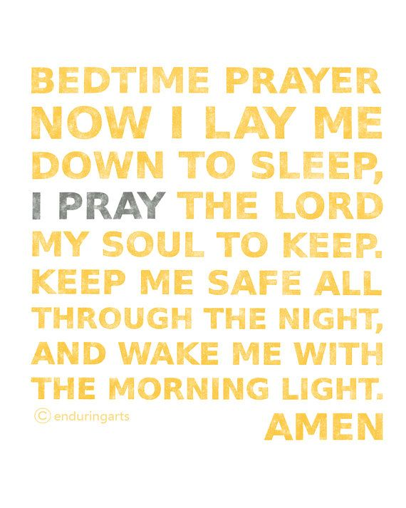 Short Bedtime Prayers For Children - Yahoo Image Search ...