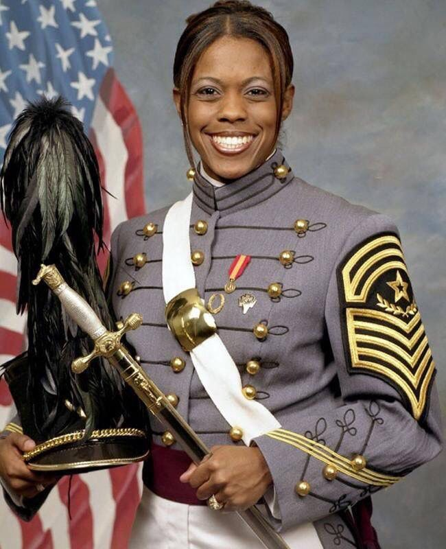 Emily Perez, 23 1st African American Cadet Command Sergeant   1st Female graduate of West Point to die in Iraq War