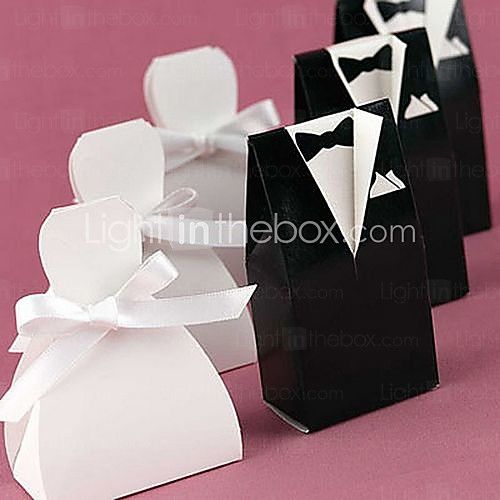 12 Piece/Set Favor Holder - Creative Card Paper Favor Boxes Non-personalised - USD $1.99