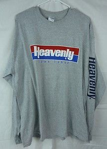 Heavenly Valley Lake Tahoe T-Shirt Size XL Long Sleeve ...