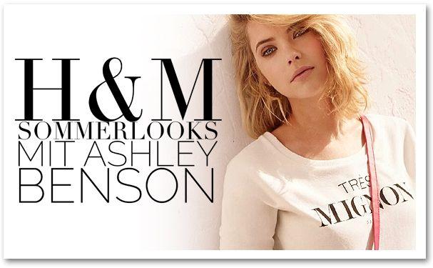 H&M Sommerlooks mit Ashley Benson   BlaaaBlaaa