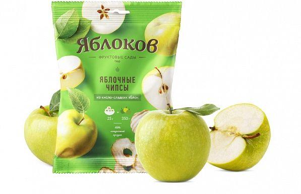 Яблочные чипсы «Яблоков» по оптимальной цене | Где купить прессованные сухофрукты в Москве