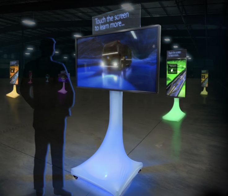 New 2017 Digital Interactive Event Marketing Kiosk Featuring Internal Eco-Friendly LED Lighting! Learn more at indydisplays.com #kiosk #interactive #marketing #LED #RGB #ColorChanging #Portable #MonitorStand #Unique #Events #Expos