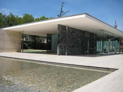 pavillon de Barcelone - 1929 (détruit puis reconstruit en 1983)