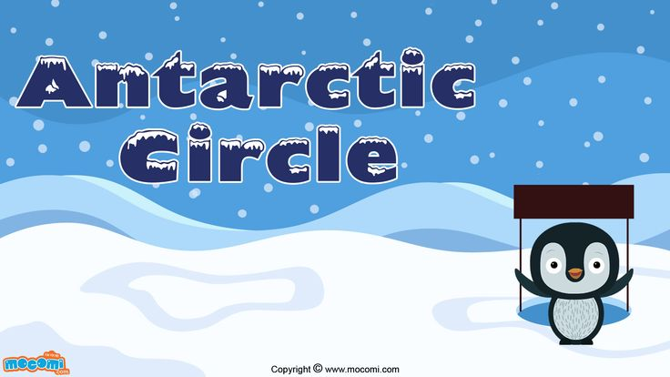 The Antarctic circle is depicted as a red line at the bottom of the globe and only the Southern Ocean passes through the Antarctic circle. Geography articles for kids, visit: http://mocomi.com/learn/geography/