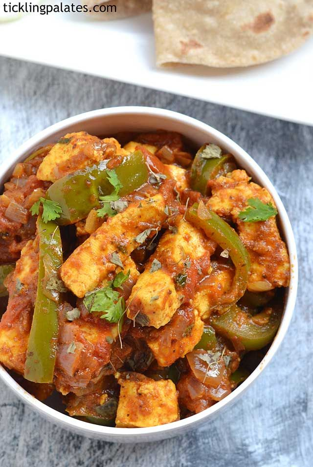 Paneer Gulshan recipe with step by step pictures. This paneer Gulshan is an easy paneer recipe to cook and serve as side dish with phulkas, rotis or naans.