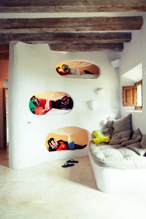 dormitorio niños cama cueva 10 dormitorios infantiles con camas creativas
