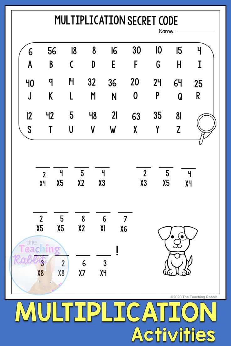 Multiplication Worksheets   Multiplication worksheets [ 1104 x 736 Pixel ]
