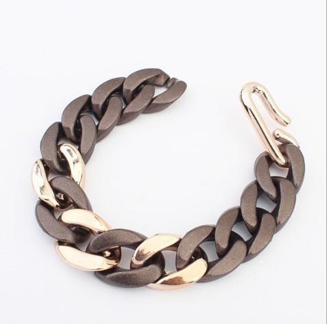 Новое поступление высокое качество горячей продажи металлическая цепь ювелирных изделий браслета для женщин, женский прекрасный мода разработанный марка браслет