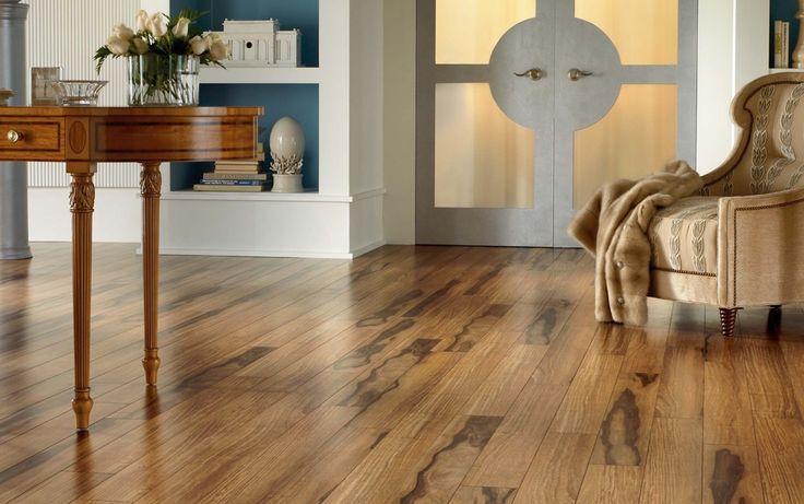 Wood Floor And Kitchen