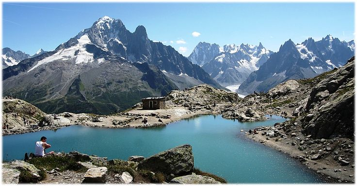 The Mont Blanc Trail...105 miles through the French, Swiss, and Italian Alps..Hopefully I will be hiking it this fall :)