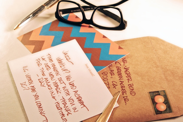 Cool Men's Stationery/Stationary