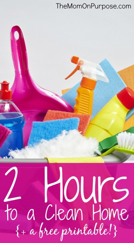 Maybe you have unexpected company coming or just a couple hours during nap time to get your entire house clean. Whatever the reason, this simple cleaning plan can help you get there!