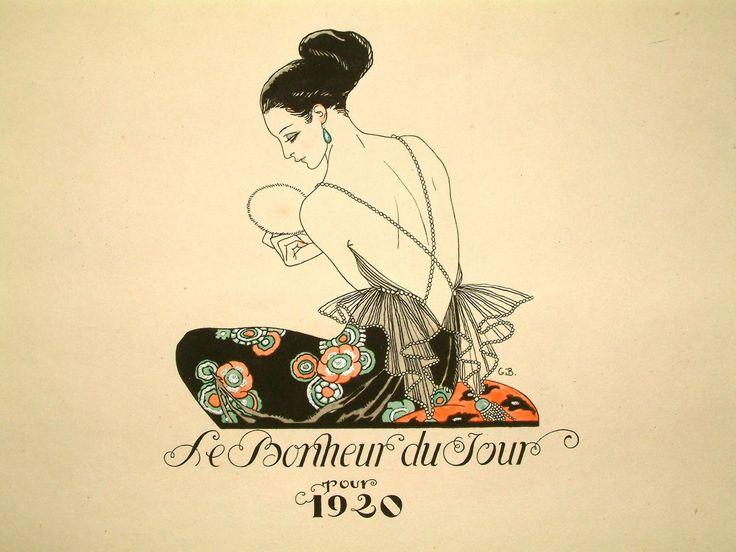 Le Bonheur du Jour cover by Georges Barbier, 1920