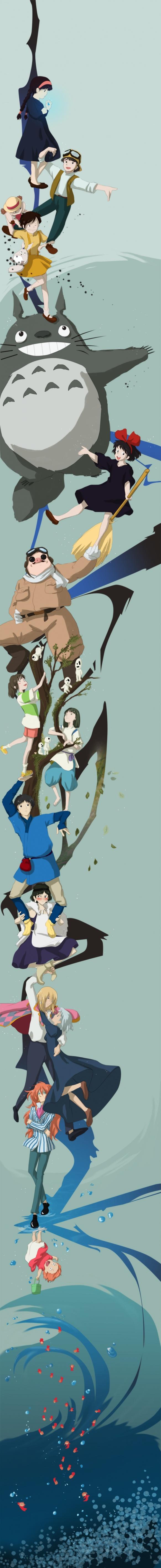 Meet my neighbor, Totoro, and friends! Studio Ghibli Characters, Japan