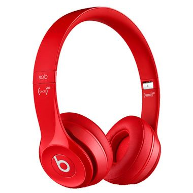 In Box Beats By Dre Beats Solo 2 Wireless Headset Red: Rough Shape