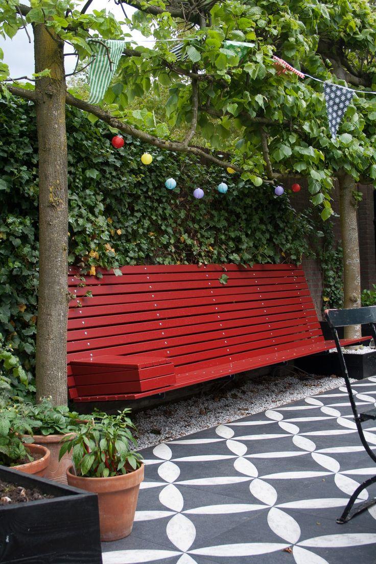 25 beste idee n over tuin bestrating op pinterest - Dek een terras met tegels ...