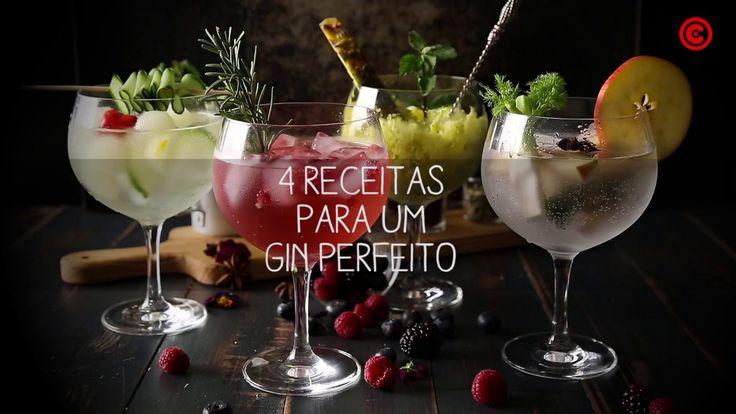 4 receitas de gin tónico | Chef Continente