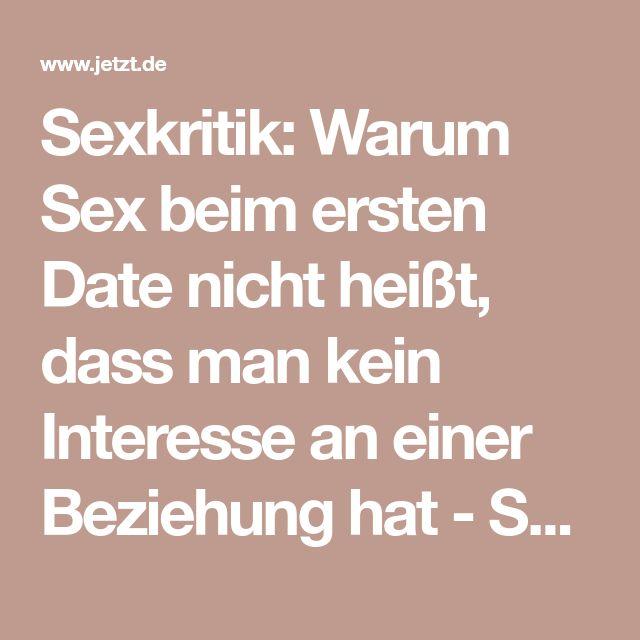 Macht Sex beim ersten Date eine Beziehung ruinieren