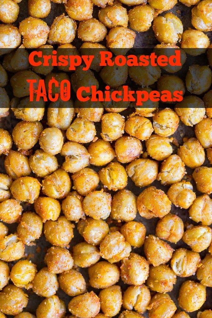 Crispy Roasted Taco Chickpeas