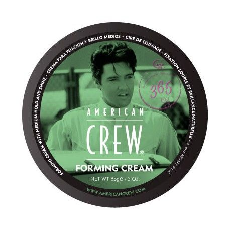 AMERICAN CREW FORMING CREAM Fijación media con brillo medio(13,90€) Crema fácil de usar para todo tipo de cabello. Forming Cream proporciona fijación, excelente flexibilidad, y un brillo natural. Ayuda a que el cabello se vea más denso.