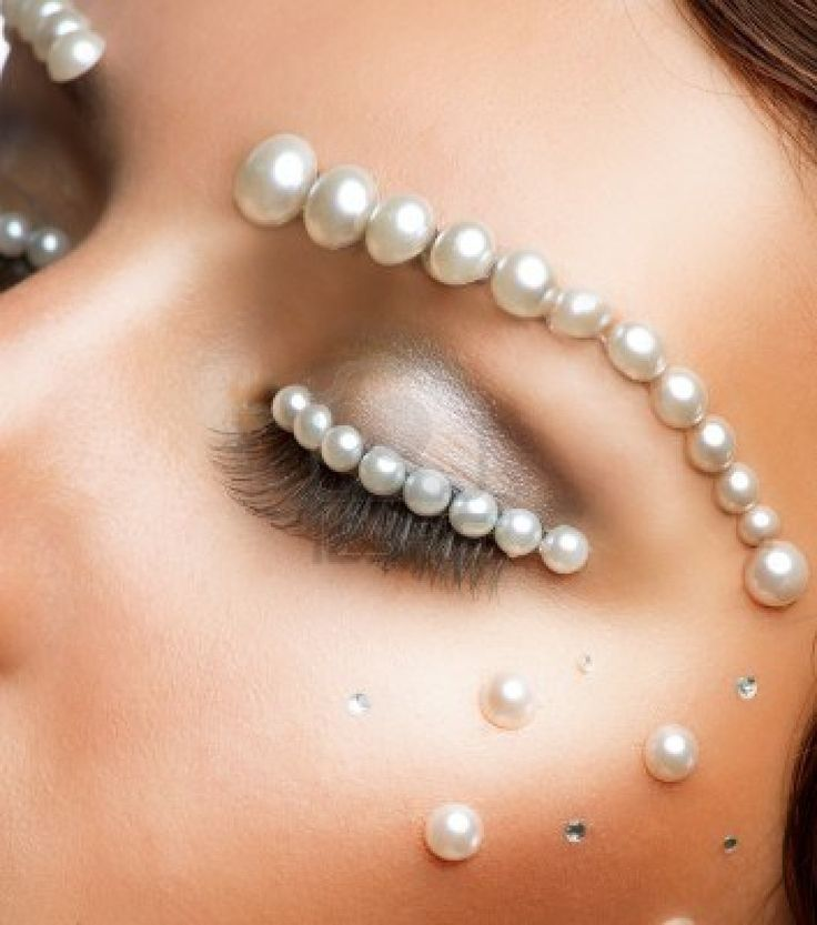 Amazing make up with Pearl #makeup #pearl #fashion