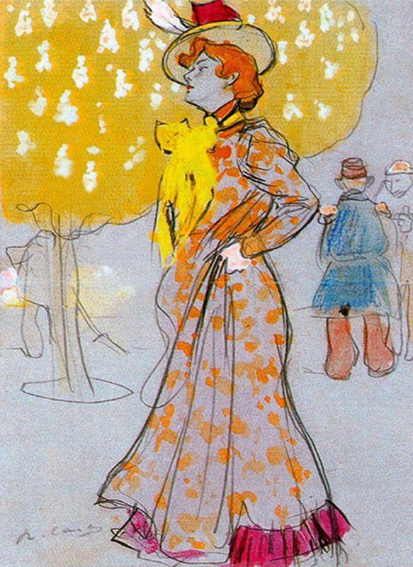"""Parisian,"" Ramón Casas i Carbó, 1900"