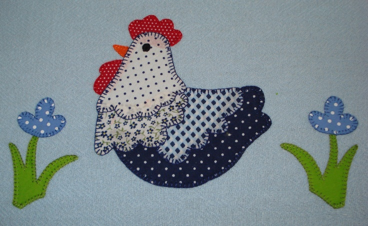 Pano de prato com patchcolagem: Crafty Stuff, Pano, Dishes, Cloths
