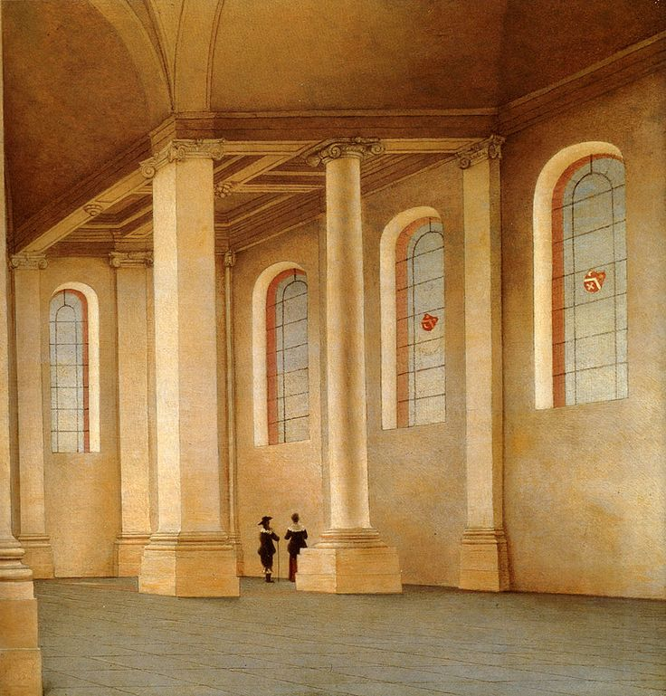 Pieter Jansz Saenredam (1597-1665) Haarlem, The Interior Of The Nieuwe Kerk, Seen From The South West Oil on panel 1658 31 x 30.5 cm (12.2 x 12.01)