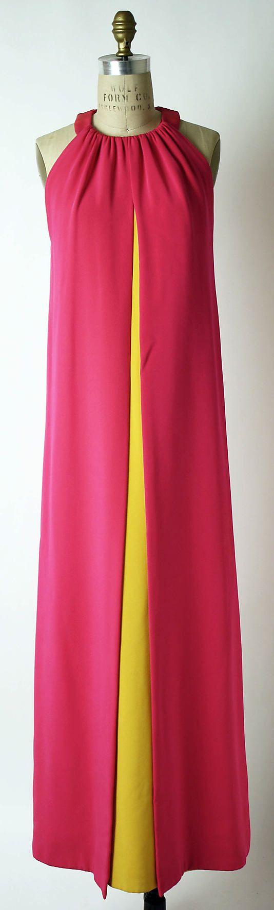 Evening ensemble ca. 1965 Yves Saint Laurent#Reine #ReineWorld #RW #SequinDress #SequinWorld #EveningDress #PartyDress #Dress #DressesInAmman #Fashionista #FashionAddict #BeReine #BeStylish #BeFashion #Amman #Jordan #JO #AFW #2014 #YOLO #InstaReine #Dresses #ReineJordan #ReineJo #Dubai