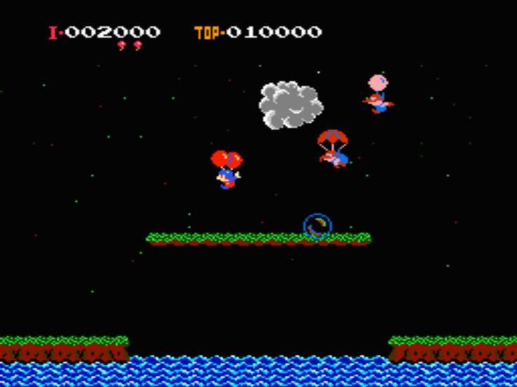 NES Balloon Fight