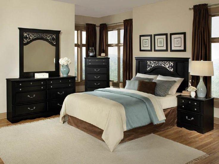 51 Best Bedrooms Images On Pinterest  Bed Furniture Bedroom Best Black Queen Bedroom Sets Design Inspiration