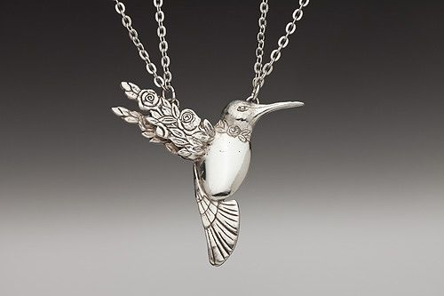 This necklace is all kinds of ~wonderful~ to me!  Found at Silver Spoon Jewelry online.