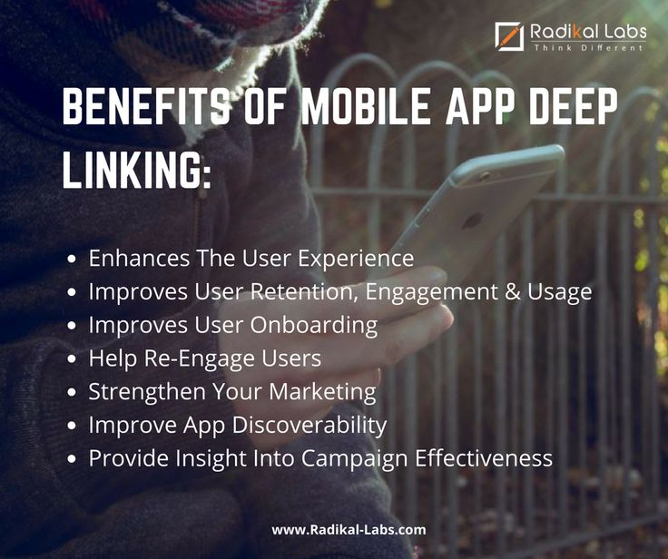 Deep linking enables app creators to drive user engagement and simplify the app on-boarding process. By Mobile deep linking you can get more users by engaging them with a great experience after installing the app.
