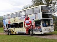 New Stagecoach West bus route to help Explore Gloucestershire more! (NOTE: Tammy's photos are on the side of the bus, not the footballer though)